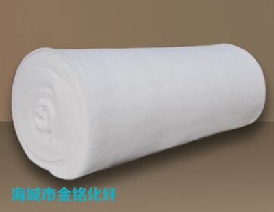 Hot melt cotton