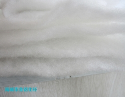Needle punched cotton
